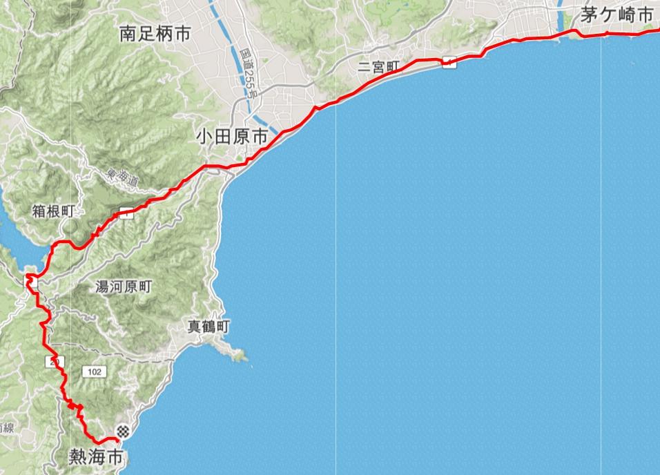 箱根熱海ライドマップ